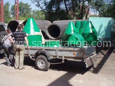 доставка оборудования и комплектующих